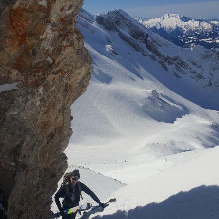 Ski de randonnée : Le Trou de la Mouche