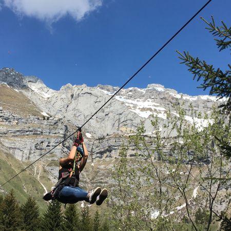 Le Chemin des Tyroliennes