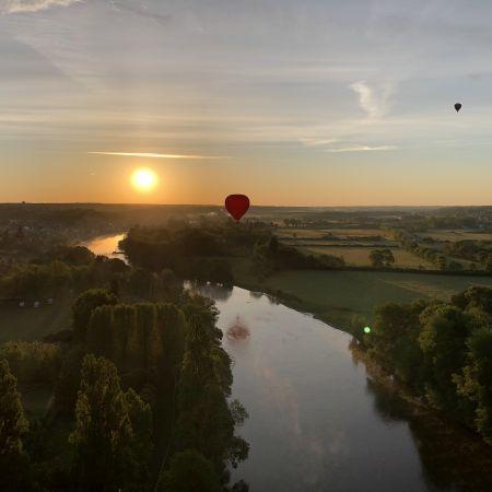 Vol en montgolfière en Val de Loire - Billet Weekend 2 personnes