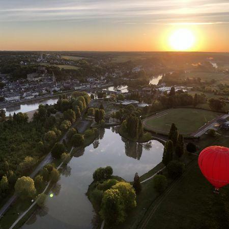 Vol en montgolfière en Val de Loire - Billet Weekend 1 personne