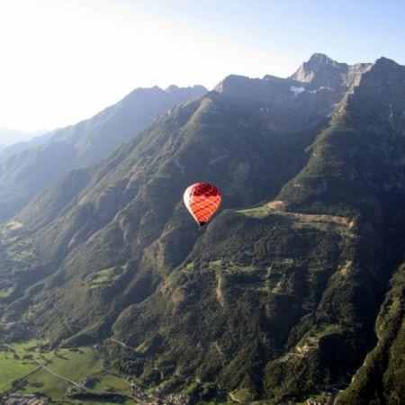 Vol en montgolfière en Italie - Billet Aoste 1 personne