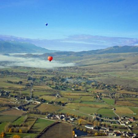 Vol en montgolfière dans les Pyrénées Orientales - Billet Bourg Madame 1 personne