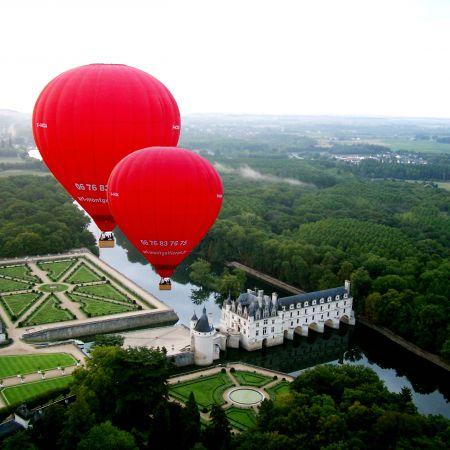 Vol en montgolfière en Val de Loire - Billet Semaine 1 personne
