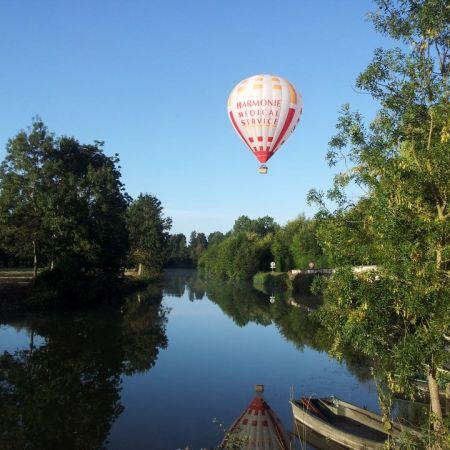 Vol en montgolfière en Vendée - Billet Marais Poitevin 1 personne