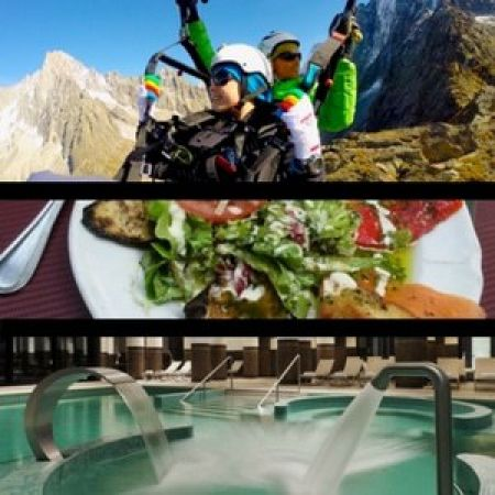 Pack Parapente – Lunch – Spa