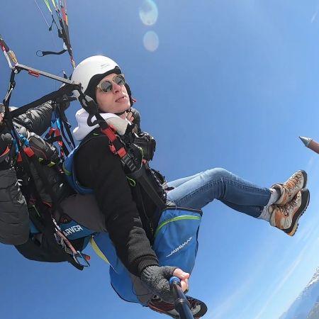 Vol parapente 3848 m sommet de l'Aiguille du Midi