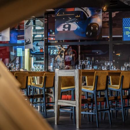 1 session de simulateur auto & 1 menu Speedway