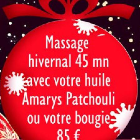 Massage hivernale 45 minutes