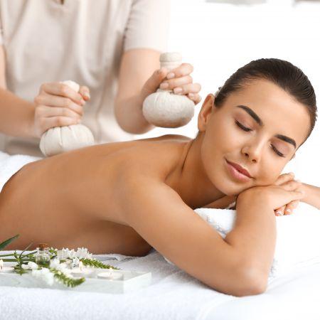 Massage Celtique aux pochons de sel de Guérande (1h)