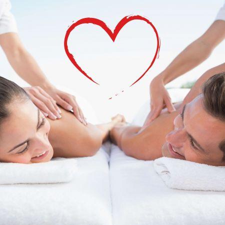 Massage du corps en duo - Anniversaire de mariage/rencontre