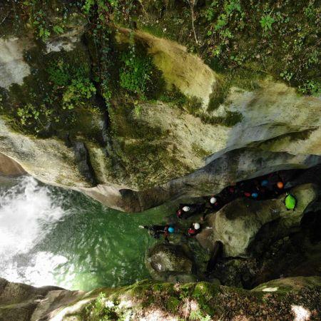 1 Place pour 1 descente de canyon au furon intégrale