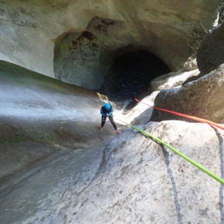 1 place pour 1 descente de canyon sensation