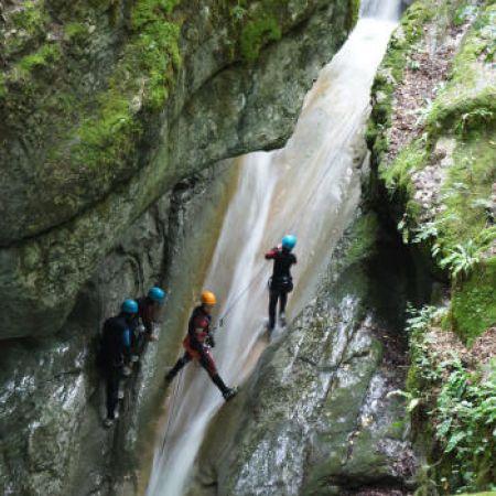 1 place pour 1 descente de canyon découverte