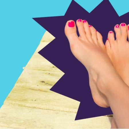 Beauté des pieds & Pose de vernis