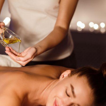 Massage ayurvédique abhyanga + massage pieds au bol Kansu