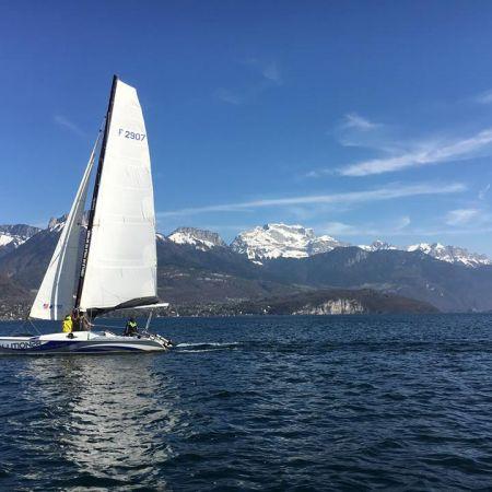 Sortie découverte en catamaran