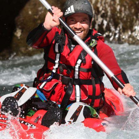 Descente Play & Run en open kayak 1h30