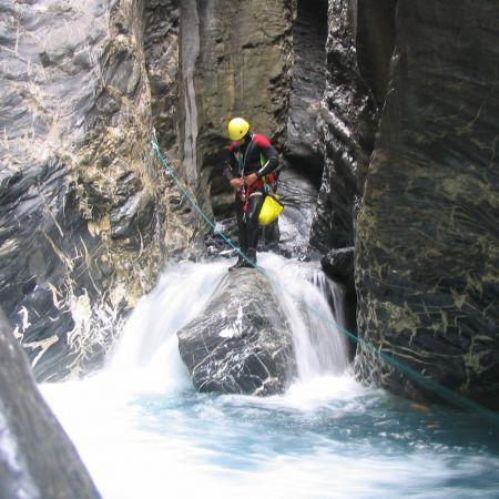Parcours canyoning Aquatique (demi-journée)