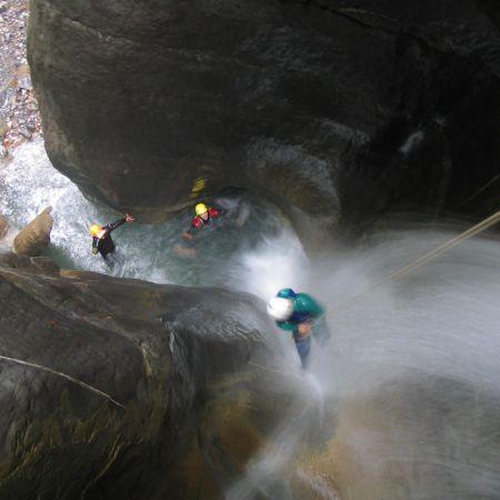 Parcours canyoning Alpin (demi-journée)