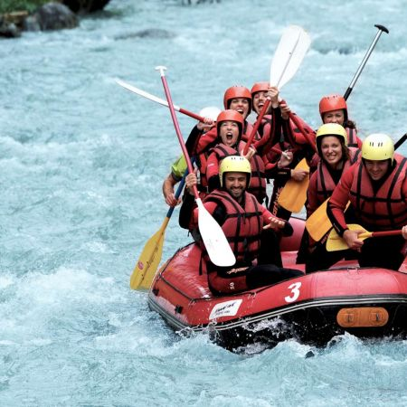 Descente rafting Alpine Trip 1h30