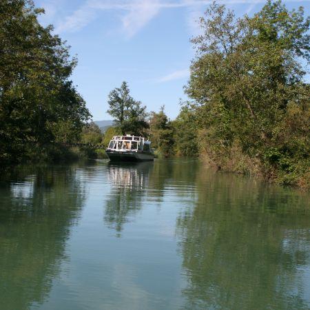 Croisière Canal de savière + Escale - Aix-Les-Bains