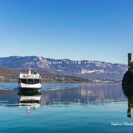 Croisière Lac Sauvage avec Menu ROSEAU  - Aix-Les-Bains