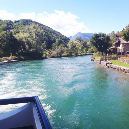 Croisière Lac et Canal avec Menu IRIS  - Aix-Les-Bains