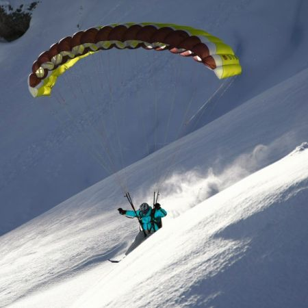 Cours de Speed Riding Grand Bornand