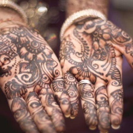 Tatouage éphémère au Jagwa