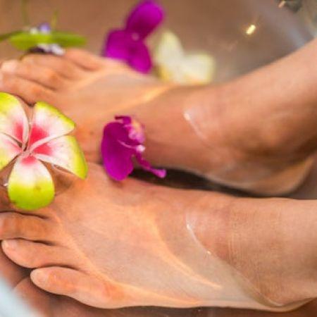 Massage des pieds et des mains (20 min)