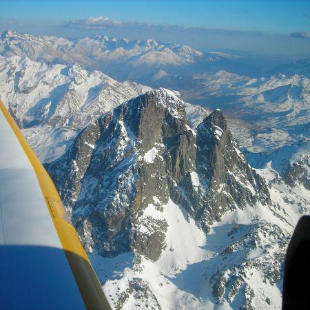 Balade en avion à la découverte des Pyrénnées au départ de Toulouse