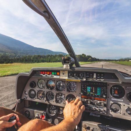 Survol du Mans en avion privé