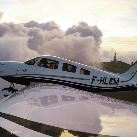 Balade aérienne aux alentours d'Aix en Provence