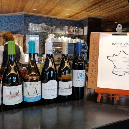 Dégustation œnologique privative au bar à vin de L'Armancette*****