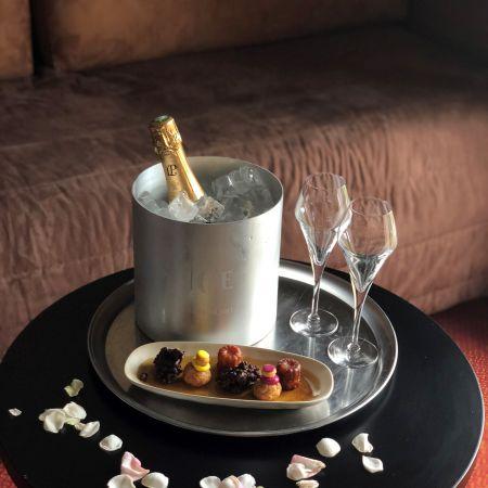 Escapade romantique à l'hôtel Beauregard
