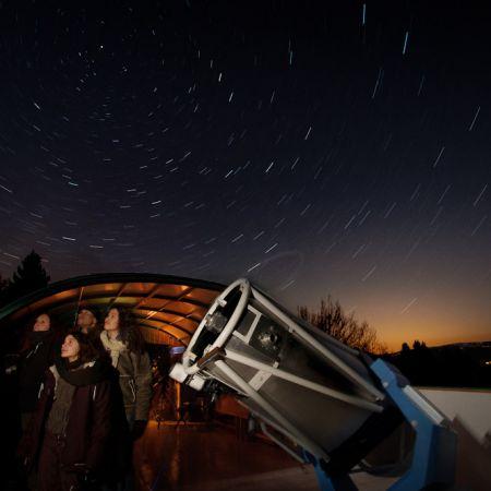 Soirée d'observation des étoiles privée à l'Observatoire de la Lèbe