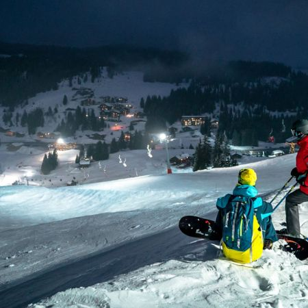 Ski Nocturne & Dîner Savoyard !