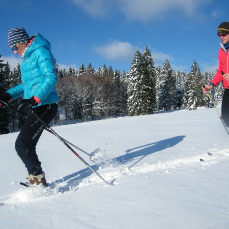 Balade en Ski Raquettes