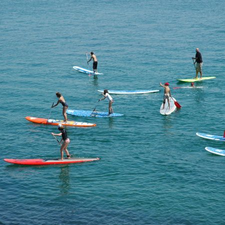 Cours de 2h en Stand up paddle. Enfant.