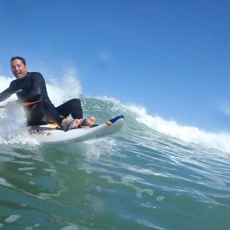 Séance de 2h dans les vagues en Wave ski ou Kayak surf
