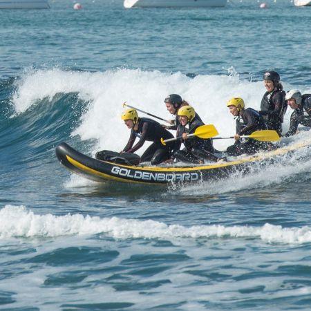 Séance de 2h dans les vagues en Wave-rafting