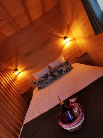 Une nuitée en cabane-spa duo image 2