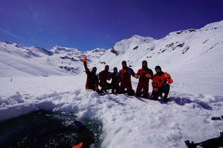 Formation Ice Diver à Tignes image 1