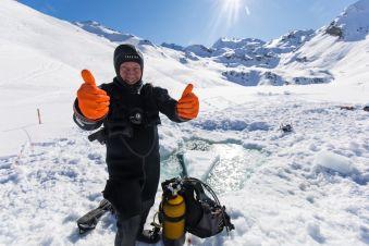 Formation Ice Diver à Montriond image 3