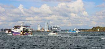 Croisière commentée sur la rade de Lorient, ville aux 5 ports image 5