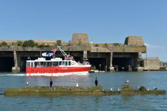 Croisière commentée sur la rade de Lorient, ville aux 5 ports image 2