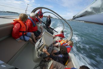 Sortie en mer sur voilier avec skipper image 1