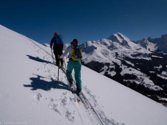 Journée Initiation au ski de randonnée à La Clusaz image 1