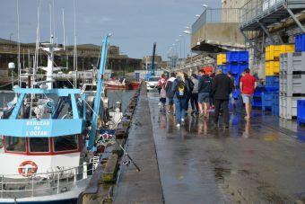 """Circuit portuaire """"La marée du jour"""". Visite du port de pêche de Lorient image 3"""
