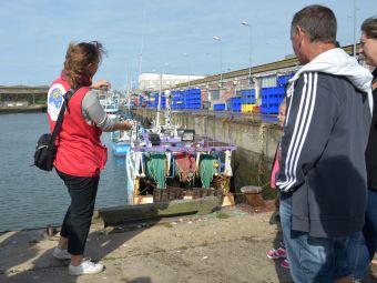 """Circuit portuaire """"La marée du jour"""". Visite du port de pêche de Lorient image 1"""